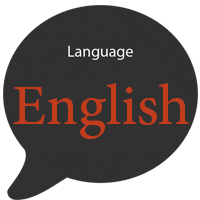 icon language english